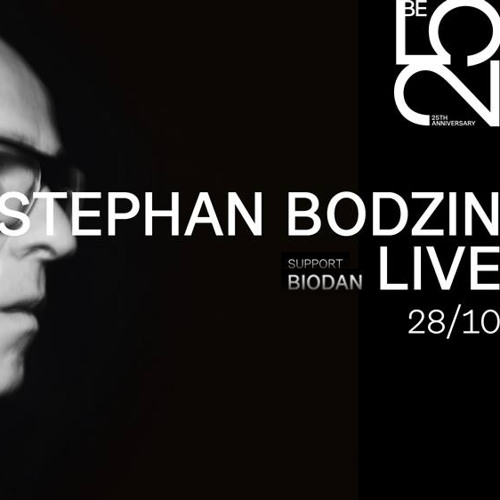 after Stephan Bodzin at Roxy Prague (October 28, 2017 / from 4.30AM)