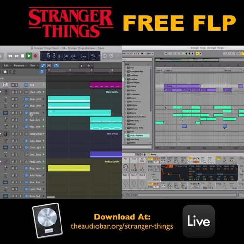 Stranger Things [FREE FLP] Ableton & Logic Pro X by The