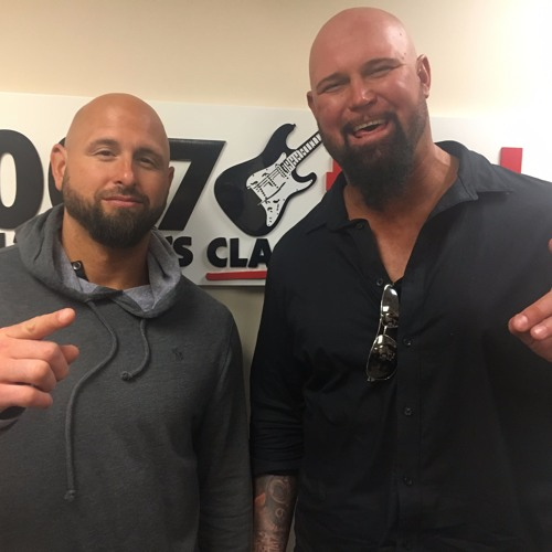 Karl Anderson and Luke Gallows talk with Stash and Joanna Campbell from 100.7  The Bay.