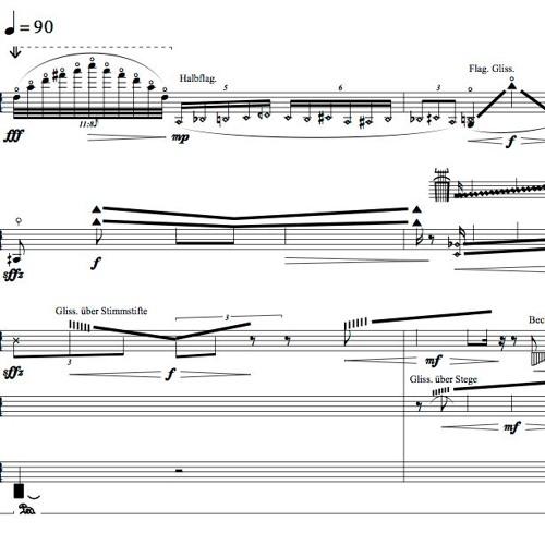 Trio für Violine, Violoncello und Klavier / Boulanger Trio