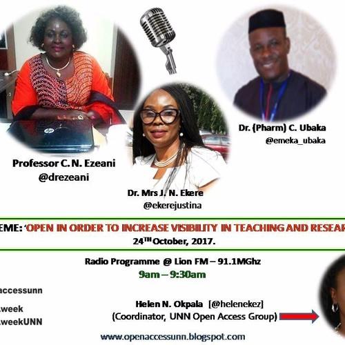 UNN Open Access Week17