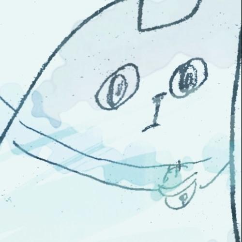 05 水色の猫