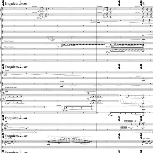 Spiel Der Schatten for Orchestra