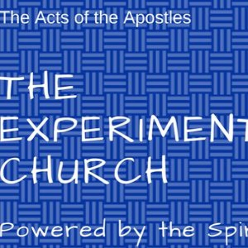 An Experiment in Saintliness with a Small 's' Pastor Marty Raths October 29, 2017