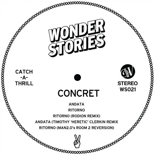 PREMIERE - Concret - Ritorno (Rodion Remix) (Wonder Stories)