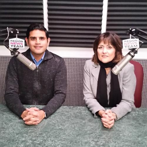 10-26-17 Region Newsmakers Cardiologist Dr Jay Shah, Diane Kemp AHA - Laura Waluszko