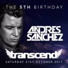 Andres Sanchez @ Transcend 5th Birthday, Brixton Jamm London 2017-10-21 Artwork
