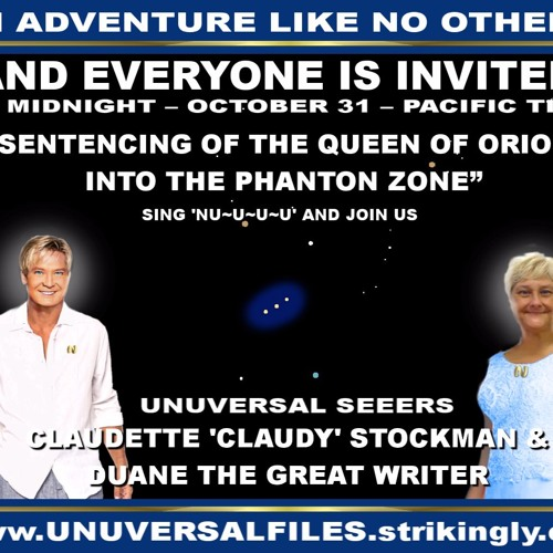 REALSIDE THE QUEEN OF ORION, ENKI, CLAUDETTE, DUANE THE REALUNUVERSAL FILES