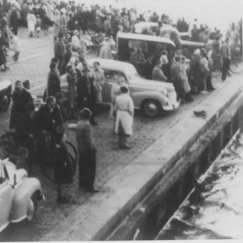 Bilen i vandet - Holbæk Havn del 1