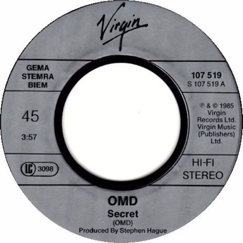 OMD - Secret (Bill Shakes Downtown Rerub)