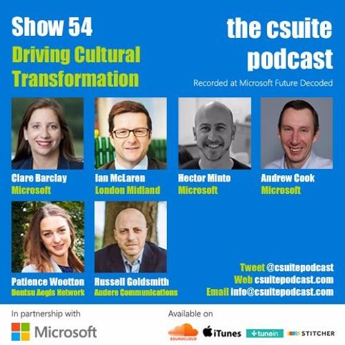 Show 54 - Driving Cultural Transformation
