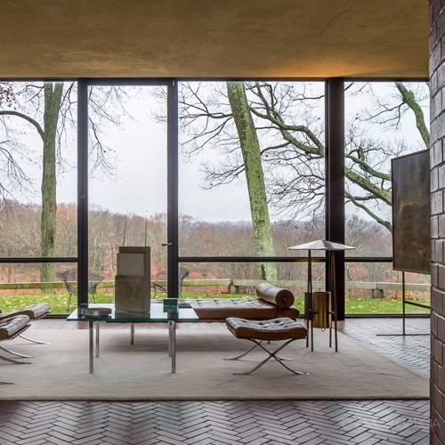 Interview on the Glass House by American architect Philip Johnson