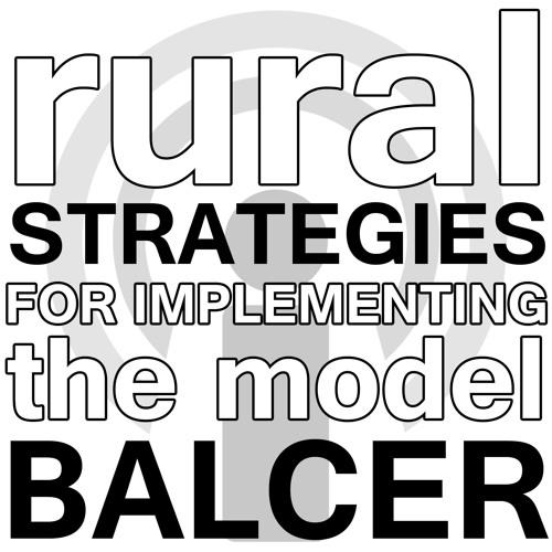 Rural Strategies for Implementing the Resource Builder Model - Kay Balcer Webinar Podcast