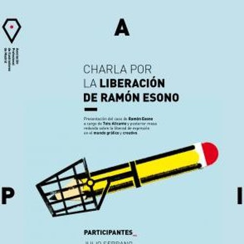 Charla por la liberación del dibujante Ramón Esono