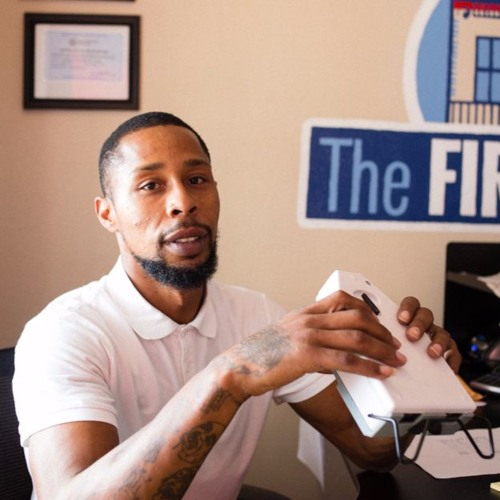 Derrick Perique left prison and started a new life. He's passing on the lessons.