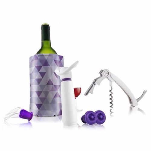 Vacu Vin Wine Essential Gift Set 6 Piece