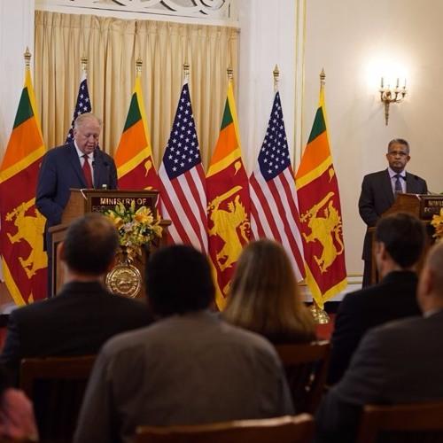 Joint Remarks to Media & Press Conference following Sri Lanka- US Partnership Dialogue
