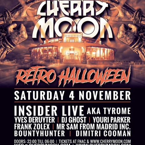 Youri Parker@ Cherry Moon Halloween 2017