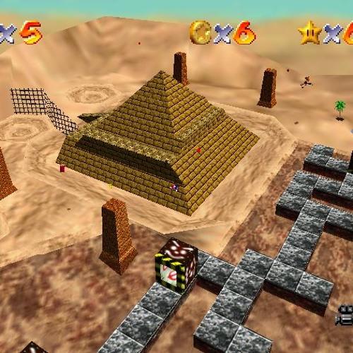 Sandstorm Mario 64 DS - Metal Cap