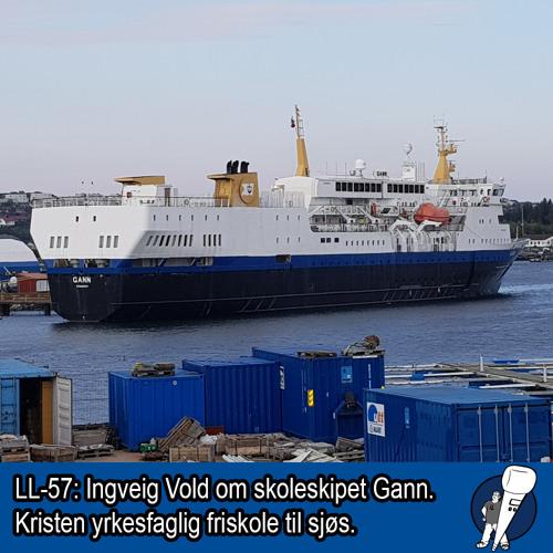 LL-57: Skoleskipet Gann - kristen skole til sjøs