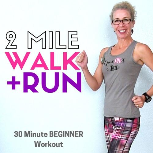 WALK + RUN For BEGINNERS   30 Minute WALKING Podcast   Where Will Running Take YOU?