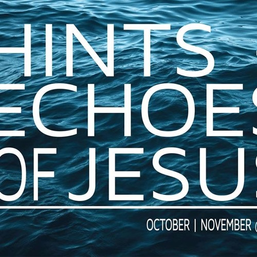 29th October: Ian Waddington: Hints of Jesus - Elijah and Elisha