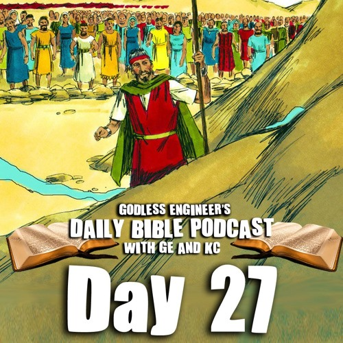 Moses Strikes The Rock With His Rod For Water || GE's Daily Bible Podcast, Day 27