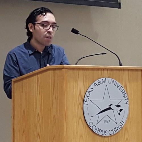 "José Angel Araguz reads his poem ""Flea Market"""