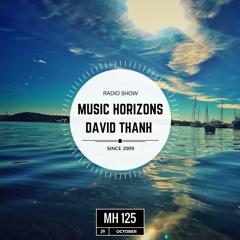 David Thanh - Guest Mix - Music Horizons @ MH125 October 2017
