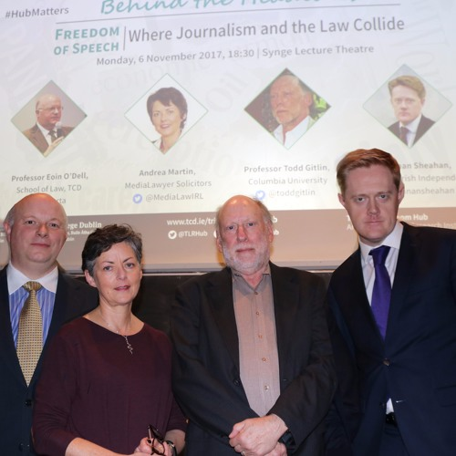 "Behind The headlines - ""Freedom of Speech: Where Journalism and the Law Collide"""