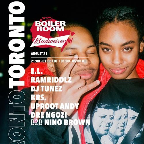 Dre Ngozi b2b Nino Brown Boiler Room x Budweiser Toronto DJ Set