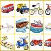 Descubriendo Los Transportes - Mono Bubba Y Sus Amigos - Videos Infantiles