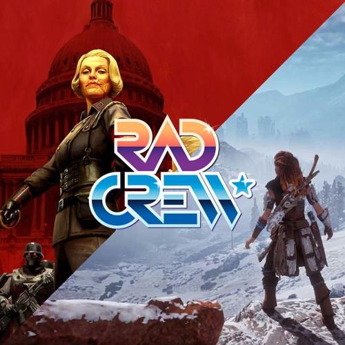 Rad Crew S14E20: Wolfenstein og Horizon Zero Dawn Frozen Wilds