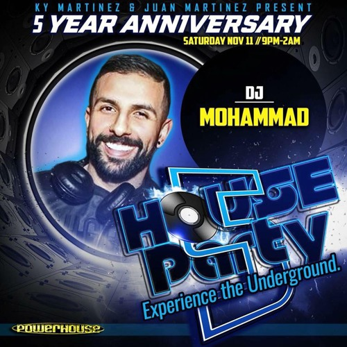 House Party 5 Year Anniversary - The Essence Of Underground