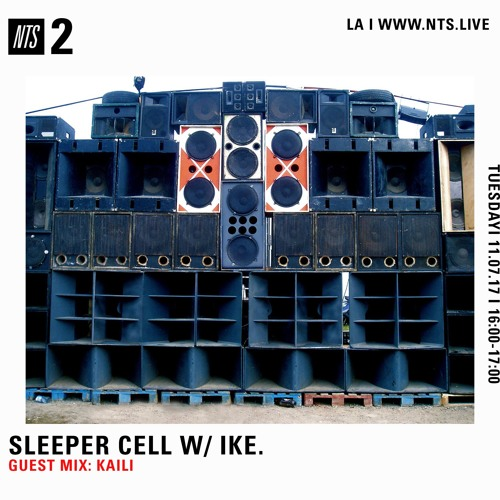 100% DANCEHALL FOR SLEEPER CELL ON NTS 11.7.17