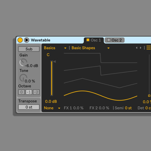 Wavetable Examples