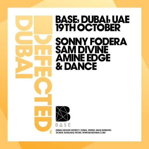 2017.10.19 - Amine Edge & DANCE @ Defected - Base, Dubai, AE