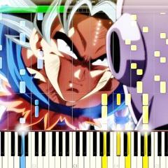 Dragon Ball Super OST - Ultra Instinct (Clash of Gods) Piano Version