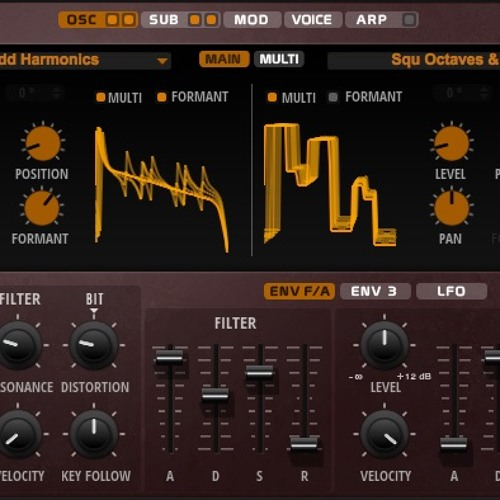FLUX Wavetable Synth Demos by Steinberg | Free Listening on