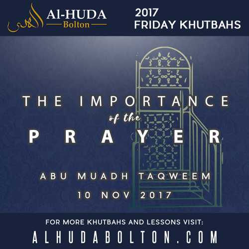 The Importance of the Prayer