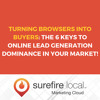 Turning Browsers Into Buyers  The 6 Keys To Online Lead Generation Dominance In Your Market!