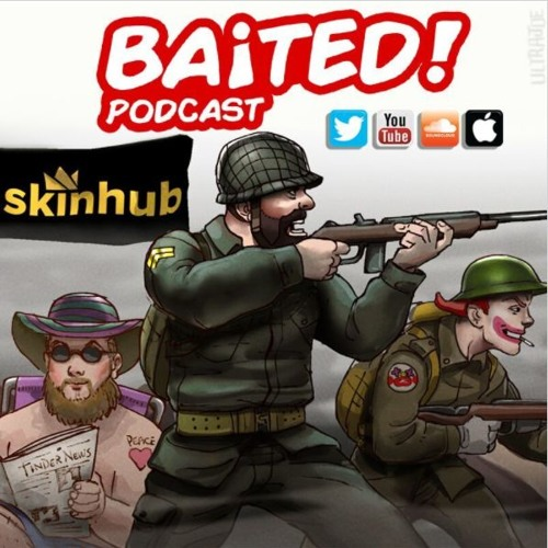 Baited! Ep #28 - Twitter accounts being suspended!