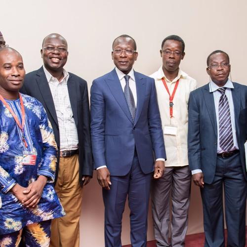 Rencontre du Chef de l'Etat S.E.M Patrice TALON avec les syndicats de la santé