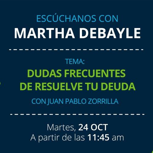 Juan Pablo Zorrilla en entrevista con Martha Debayle.
