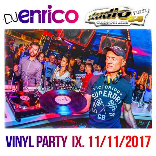 DJ Enrico - Live At Vinyl Party Studio54 - 11/11/2017
