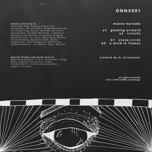 B2 Mateo Hurtado - A Mind In Flames | ONNX001