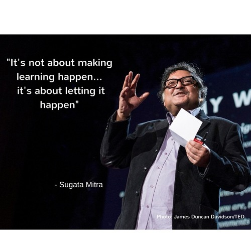Sugata Mitra on a new approach to Philosophy for Children (P4C)