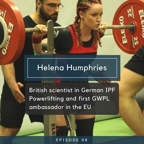 Helena Humphries - British scientist in German IPF Powerlifting