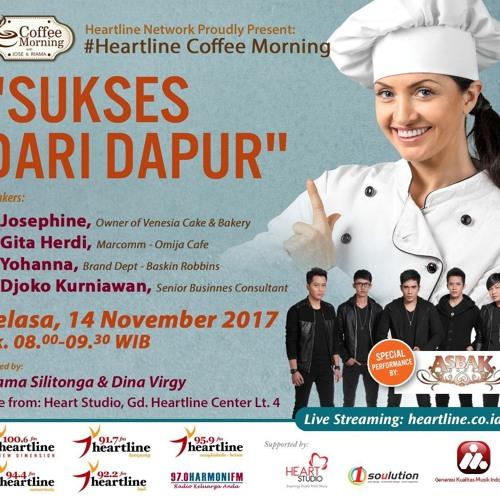 Coffee Morning 14 November 2017 (Sukses Dari Dapur)