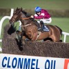 Sean Flanagan speaks after the victory of Alpha Des Obeaux in the Clonmel Oil Chase